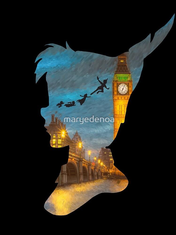Peter Pan Over London de maryedenoa