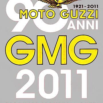 Moto Guzzi Retro Logo by aure10