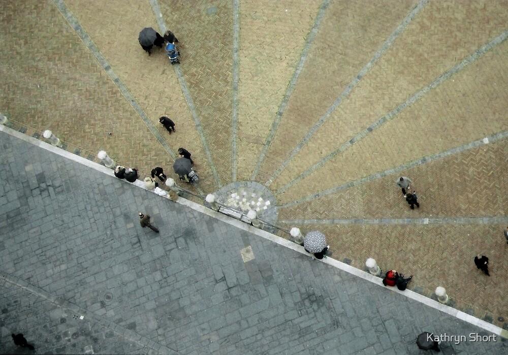 Umbrellas in Siena, Italy by Kathryn Short