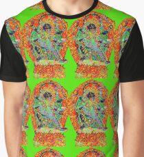 Kali Bhairava in union Graphic T-Shirt