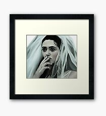 Broken Bride Framed Print