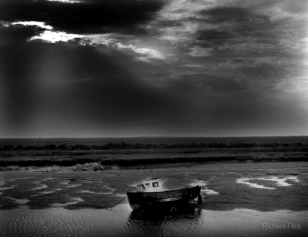 Burnham Overy Staithe, Norfolk, UK by Richard Flint