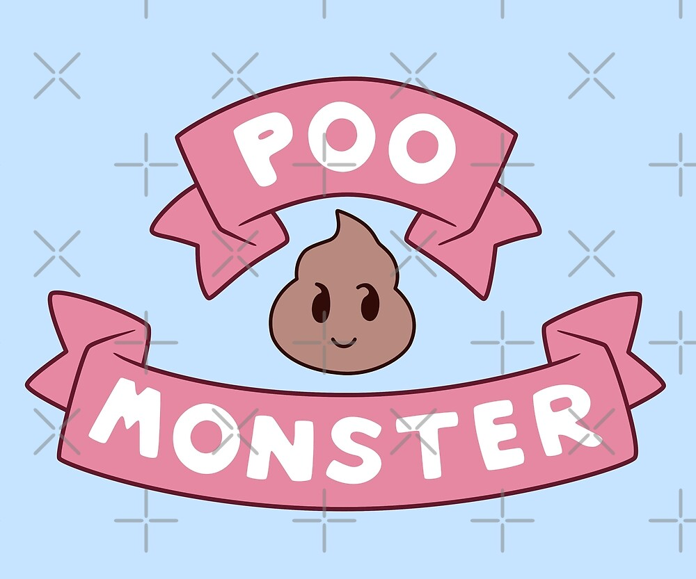 Puppycat Poo Monster by audreyyun