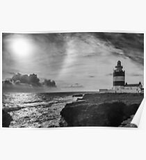 Storm approaching Hook Head Poster