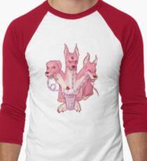 Strawberry Cerberus Baseball ¾ Sleeve T-Shirt