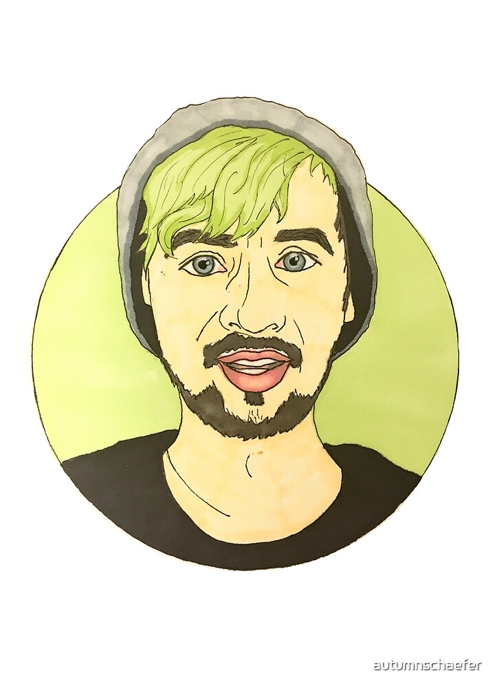 Jacksepticeye in a Circle by autumnschaefer