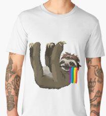 Gay Pride Sloth Shirt Men's Premium T-Shirt