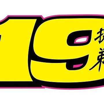 #19 Alvaro Bautista - MotoGP Rider Number by xEver