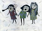 Three Girls by Marianna Tankelevich