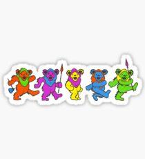 Grateful dead star wars bears Sticker