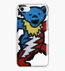 Grateful dead USA bear iPhone Case/Skin