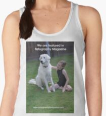 Featured in Petography Magazine Women's Tank Top