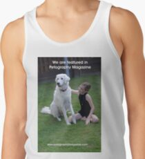 Featured in Petography Magazine Men's Tank Top