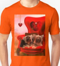 Cute little Yorkshire Terrier  Unisex T-Shirt