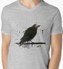 Tempel T-Shirt mit V-Ausschnitt für Männer