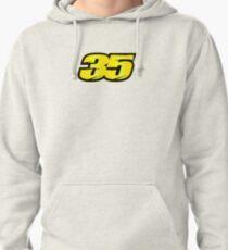 #35 Cal Crutchlow - MotoGP Rider Number Pullover Hoodie