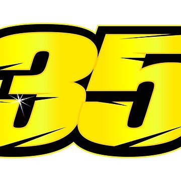 #35 Cal Crutchlow - MotoGP Rider Number by xEver