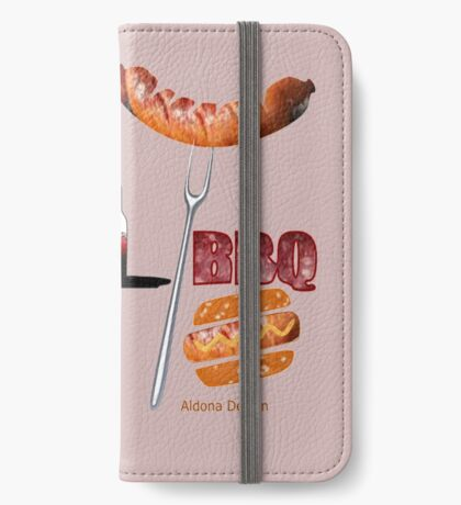 Invitation to a BBQ Party (1513  Views) iPhone Wallet