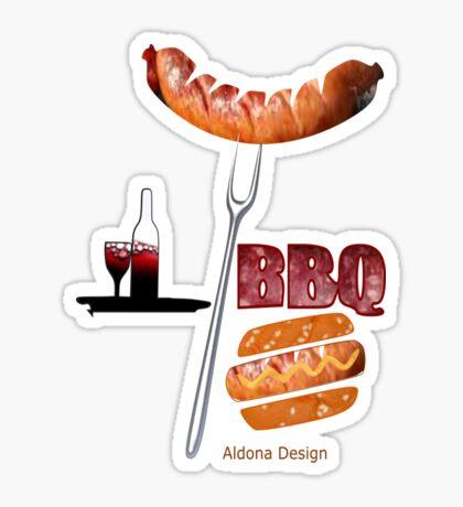 Invitation to a BBQ Party (1513  Views) Sticker