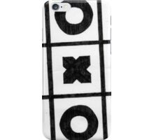 Noughts And Crosses iPhone Case/Skin