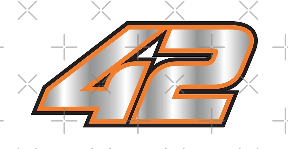 #42 Alex Rins - MotoGP Rider Number by xEver