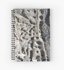 Rock Etchings I Spiral Notebook