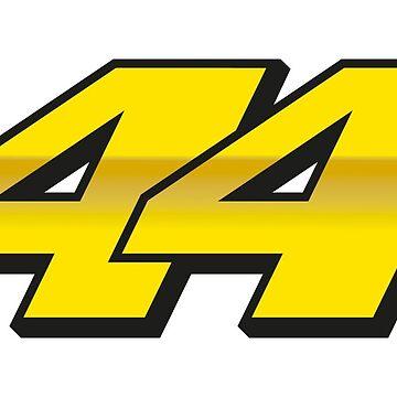 #44 Pol Espargaro - MotoGP Rider Number by xEver