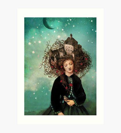 Sleeping beauty's dream Art Print