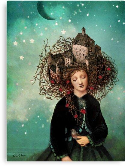 Sleeping beauty's dream by Catrin Welz-Stein
