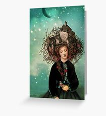 Sleeping beauty's dream Greeting Card
