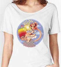grateful dead sticker Women's Relaxed Fit T-Shirt