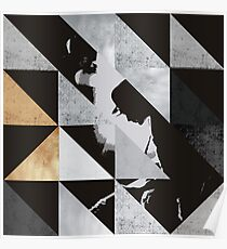 U2  rattle and hum - Triangles Poster