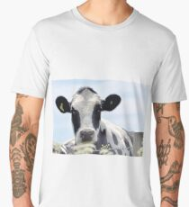 Cow in the meadow....Dorset UK Men's Premium T-Shirt
