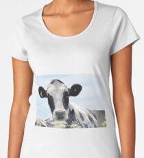 Cow in the meadow....Dorset UK Women's Premium T-Shirt