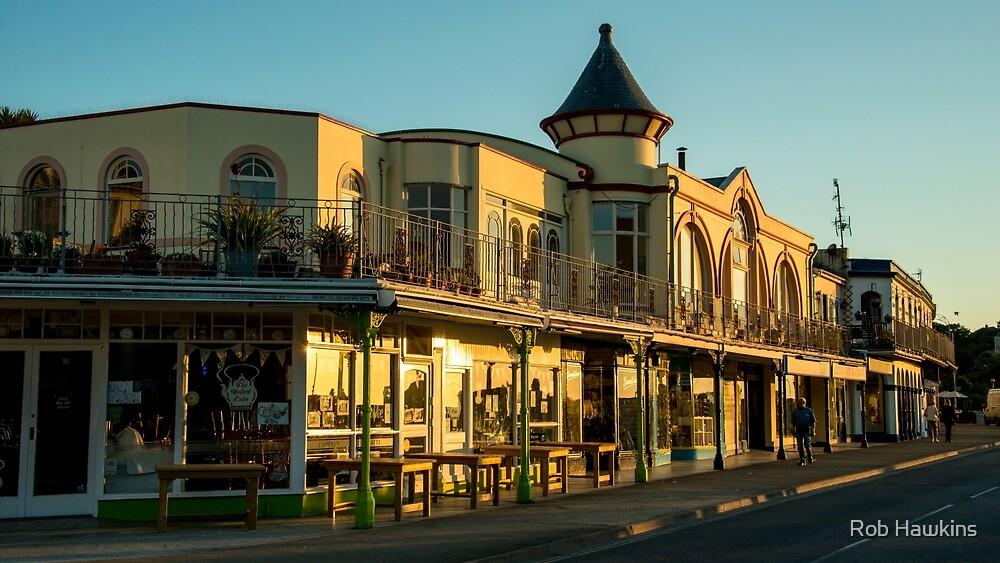 Ilfracombe Promenade  by Rob Hawkins
