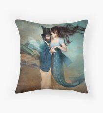 A Mermaids Love Throw Pillow