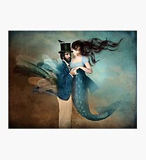 A Mermaids Love Photographic Print
