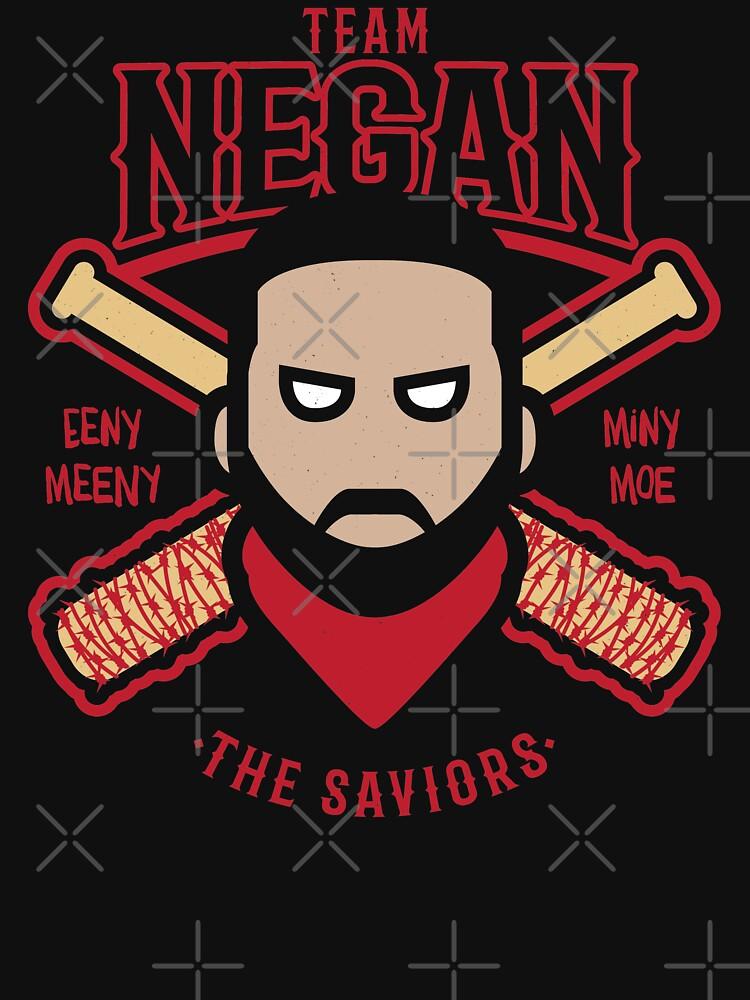 Negan Team Negan Der Erlöser Baseball Lucille Walking Dead von japdua