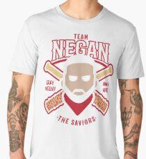 Negan Team Negan The Savior  Baseball Lucille Walking Dead Men's Premium T-Shirt