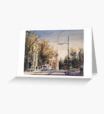Autumn Colour in Bendigo Greeting Card