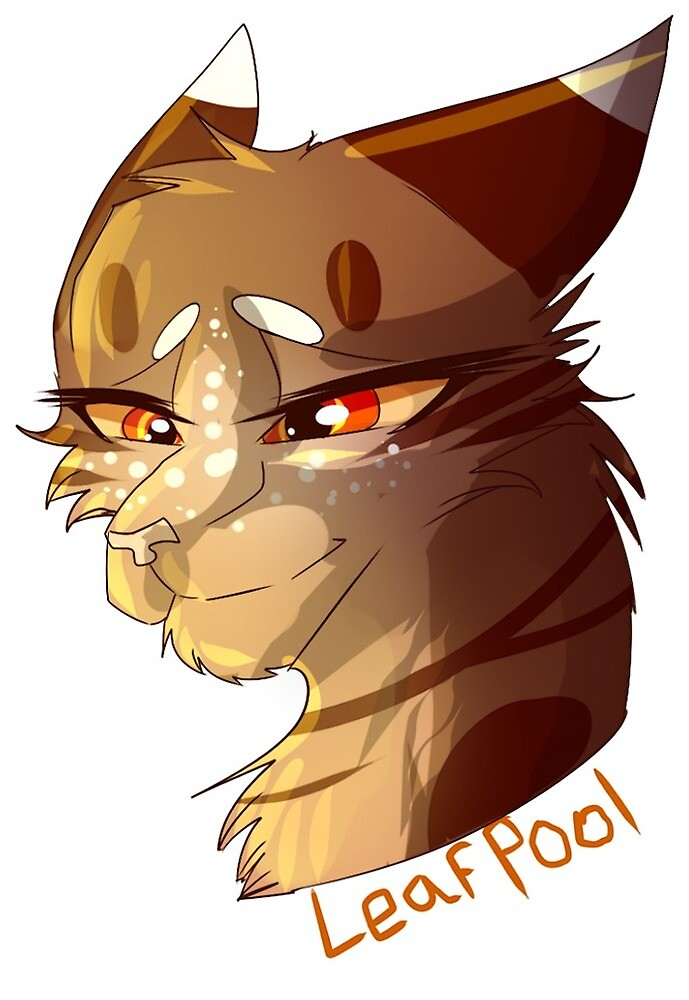 Warrior Cat Stickers- Leafpool by WarriorCat3042