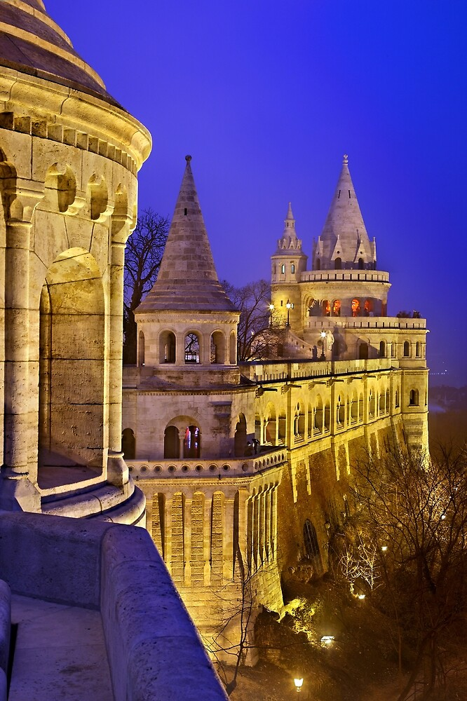The Fisherman's Bastion by Hercules Milas