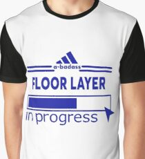 FLOOR LAYER Graphic T-Shirt