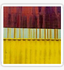 Corrugated Dilapidation  Sticker