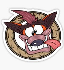 N Sane Face Sticker