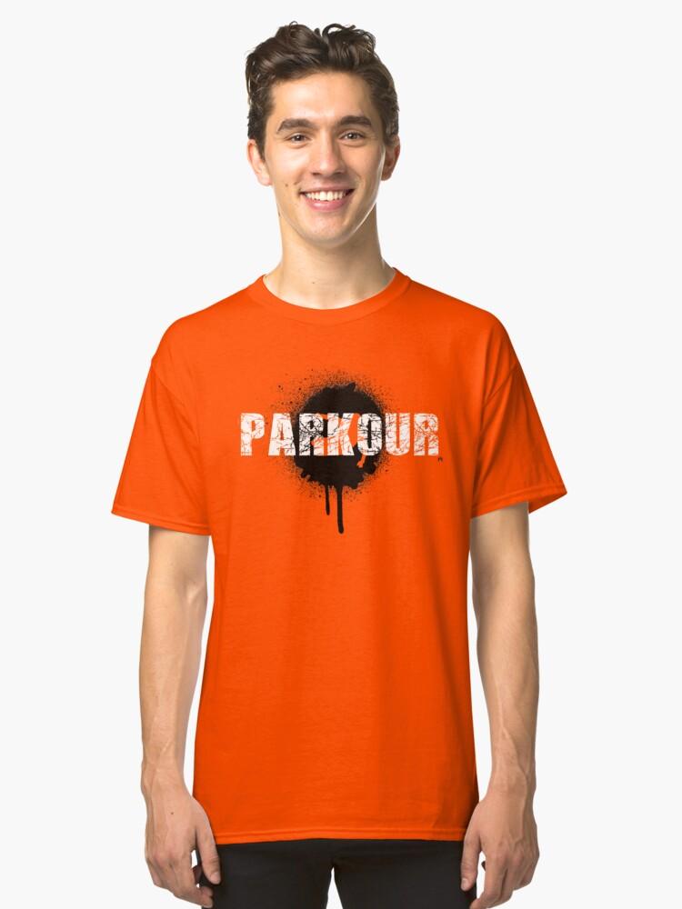 Parkour - urban jungle Classic T-Shirt Front