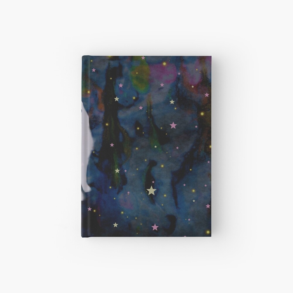 Forest cat Hardcover Journal