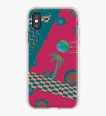Tropical Discowave iPhone Case