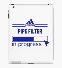 PIPE FILTER iPad Case/Skin