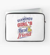 Softball bat baseball diamond  Laptop Sleeve